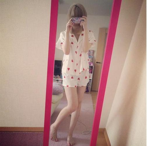 【エンタがビタミン♪】きゃりーぱみゅぱみゅの夏物パジャマ姿に興奮。「太ももに挟まれたい」