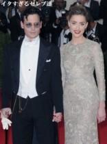 【イタすぎるセレブ達】ジョニー・デップ、新作映画でオジイサンに。婚約者はそれでも濃厚ハグ。