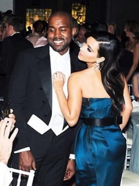 カニエ&キム、挙式前後の放映で超大金をガッポリ?(画像はinstagram.com/kimkardashianより)