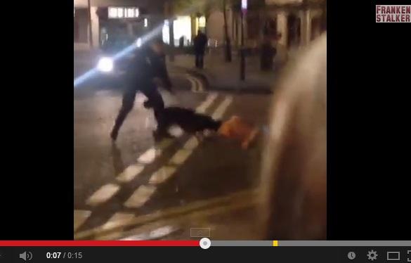 【EU発!Breaking News】警察犬、無抵抗の容疑者に飛びつき首をガブリ。制止にも耳を貸さず。(英)
