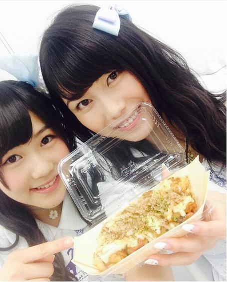 『ハピくるっ!』に出た西野未姫と横山由依 (画像は『twitter.com/asuka_k911』のスクリーンショット)