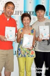 イベントにて澤部佑、綾戸智恵、岩井勇気