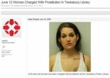 【米国発!Breaking News】図書館で客引きした売春婦が逮捕。上質の客を狙った!?(マサチューセッツ州)