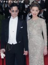 【イタすぎるセレブ達】ジョニー・デップとの結婚式は「秋頃」。アンバー・ハードの父が明かす。