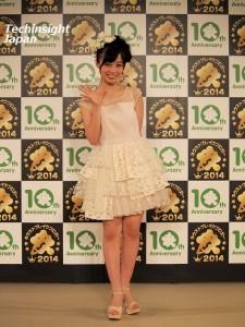 白いドレスがよく似合っていた橋本環奈