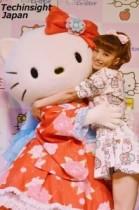 【エンタがビタミン♪】安西ひろこ、イヤらしさが増した? 復帰後初のイベントでキティちゃんのハグに大興奮。