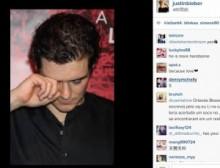 """【イタすぎるセレブ達】ジャスティン・ビーバー、オーランド・ブルームの""""泣き顔""""公開でさらに挑発。"""