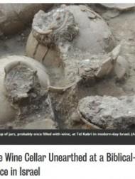 【中東発!Breaking News】イスラエルの宮殿地下から巨大な古代ワインセラーを発見!