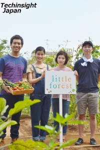 農園にて左から三浦貴大、橋本愛、松岡茉優、森淳一監督