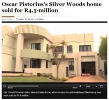 【アフリカ発!Breaking News】オスカー・ピストリウスの惨劇の家、ようやく売却される。(南ア)