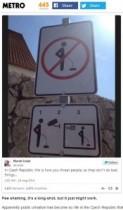 "【EU発!Breaking News】""立ちション""に新対策。チェコの街角に「撮影してYouTubeで公開」の警告標識!"