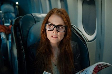 映画『フライト・ゲーム』に出演した人気女優ジュリアン・ムーア。