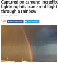 "【EU発!Breaking News】ドイツ上空で""虹を渡る稲妻""、一瞬を捉えたダイナミックな気象写真。<動画あり>"