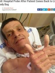 【南米発!Breaking News】生きたまま安置室へ。遺体袋の中でうごめいていた兄を確認に来た弟が救出。(ブラジル)