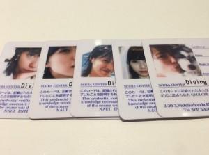 戸田恵梨香が取得した免許証(画像はinstagram.com/toda_erika.officialより)