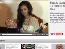 【アジア発!Breaking News】ミス・ミャンマー、韓国ミスコンで優勝するも豊胸疑惑。「ティアラ返上はイヤ」で大モメ。
