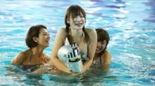 """【エンタがビタミン♪】24時間『めちゃユル』の""""早朝アイドル水泳大会""""が好評。再生回数205万超に貢献か?"""