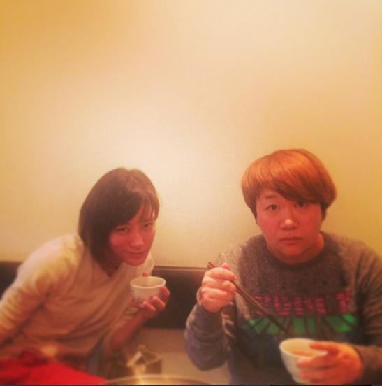 水川あさみと近藤春菜。(画像はinstagram.com/kanna_moriより)