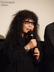 舞台挨拶にサプライズ出演した吉田美奈子