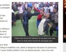 【海外発!Breaking News】草を食べさせていた南アフリカの教祖、今度は信者の口にガソリンを注ぐ!