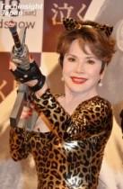 【エンタがビタミン♪】デヴィ夫人、ノーパン・ノーブラのセクシー女豹に変身。裁判には「絶対勝ちます!」