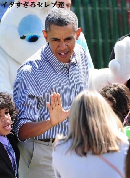 【イタすぎるセレブ達】オバマ大統領、一般人に「俺の彼女に触るなよ」と言われてプチ逆襲。