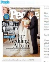 【イタすぎるセレブ達】ジョージ・クルーニー、美人弁護士との結婚写真が美しすぎる!