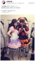 """【エンタがビタミン♪】島崎遥香と中西智代梨がハロウィン仮装。AKB48が""""ファッションモンスター""""を踊る。"""