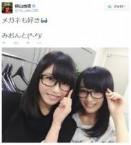 """【エンタがビタミン♪】AKB48・横山由依、向井地美音が「メガネ女子」をアピール。内田は""""サングラス選抜""""に不満。"""