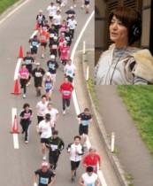 """【エンタがビタミン♪】赤江珠緒アナ、初フルマラソンで完走も""""練習は週1日""""。「給食所はすべて立ち寄りました」"""