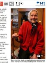 【海外発!Breaking News】91歳女性、遺体安置室に移って11時間後、息を吹き返す。(ポーランド)