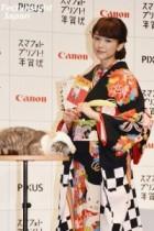 """【エンタがビタミン♪】桐谷美玲も絶賛した""""ブサかわ猫ちゃん""""のプロ意識がすごい。来年の年賀状は""""愛犬に羊の被り物""""で。"""