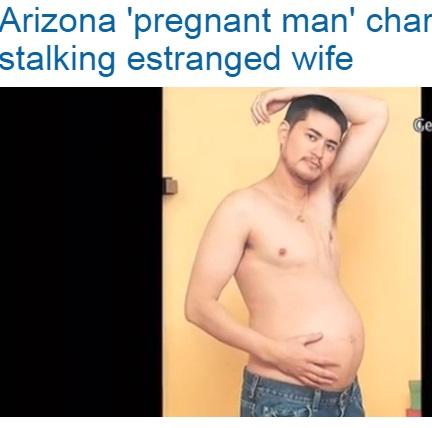 """【海外発!Breaking News】""""妊娠するパパ""""トーマス・ビーティが逮捕。別居中の妻子をストーキング。(米)"""