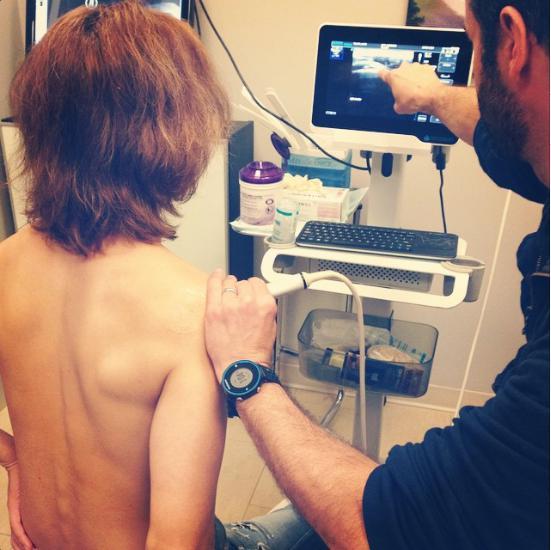 YOSHIKIの裸にファンから「痩せた?」の声も。(画像はinstagram.com/yoshikiofficialより)