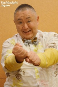 """【エンタがビタミン♪】片岡鶴太郎は""""壁ドン""""の元祖だった!? 松村邦洋からのメールで明らかに。"""
