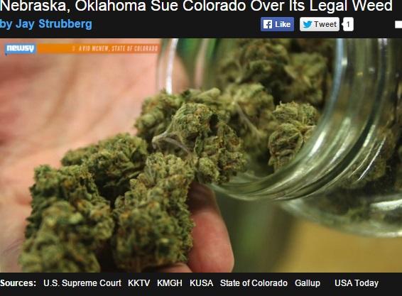 【海外発!Breaking News】堂々とした大麻ビジネスに大迷惑! オクラホマ州とネブラスカ州がコロラド州を訴える。