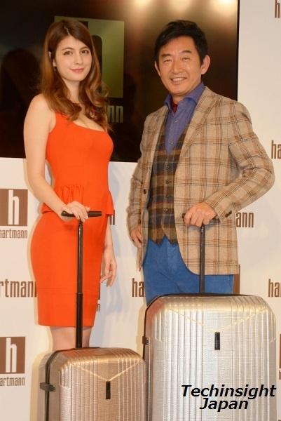 「ハートマン」が良く似合う マギーと石田純一