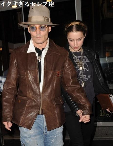 【イタすぎるセレブ達】ジョニー・デップ、婚約者アンバー・ハードとの関係に暗雲か。