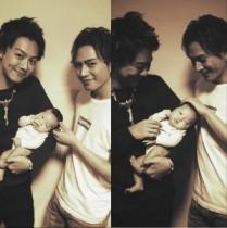 【エンタがビタミン♪】TAKAHIROが赤ちゃんを抱っこ。登坂広臣の接し方が「いいパパになりそう」と評判。