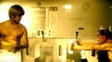 【エンタがビタミン♪】小林太郎の最新MVがおもしろい! 山田親太朗VS菅登未男(ピカデリー梅田)。若者と老人の激しすぎる銭湯バトル。