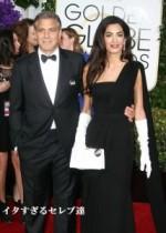 【イタすぎるセレブ達】ジョージ・クルーニー、ゴールデングローブ賞授賞式スピーチで妻への愛を語る。