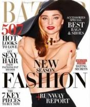 【イタすぎるセレブ達】ミランダ・カー、「裸になるのって大好き!」人気誌表紙にトップレスで登場。