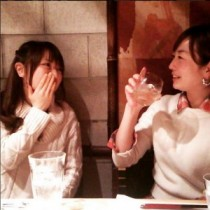 【エンタがビタミン♪】紺野あさ美アナと談笑する狩野恵里アナ。「姐さん感出てる」と評判。