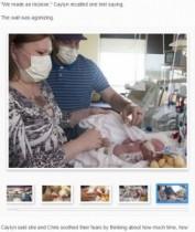 【海外発!Breaking News】生後6日の赤ちゃん、心臓に欠陥が見つかり移植手術を受ける。(米)