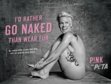 【イタすぎるセレブ達】P!NKが動物愛護団体「PETA」に協力。ヌードを披露!
