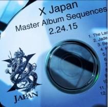 """【エンタがビタミン♪】X JAPANの新アルバムは12曲収録? YOSHIKIが""""Master Album""""の画像を公開。"""