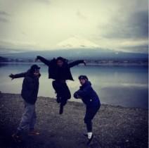 【エンタがビタミン♪】大東駿介が華麗に跳躍。富士山を背景に技を披露したワケ。