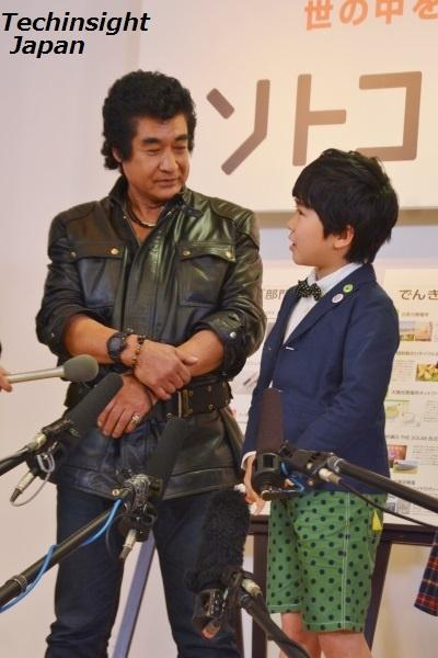 【エンタがビタミン♪】藤岡弘、「仮面ライダーはバッタの反逆」「ライダーキックは風力エネルギー」。石ノ森章太郎の意思を着実に表現。