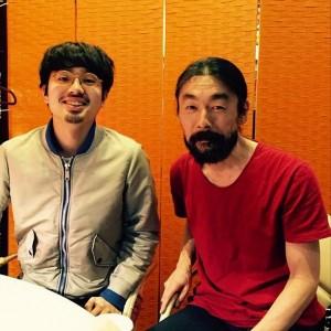 ハマ・オカモトと河村智康(画像はハマ・オカモト Instagramより)