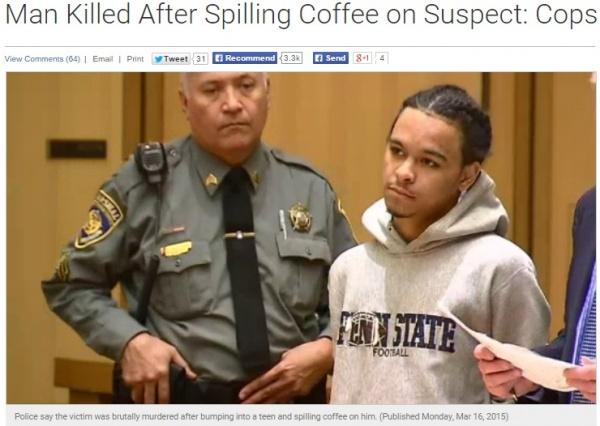 【海外発!Breaking News】こぼれたコーヒーにキレて相手を刺す。マクドナルドが悩む「客質」の問題。(米)